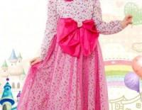 gamis-anak-terbaru-produsen-murah-pink