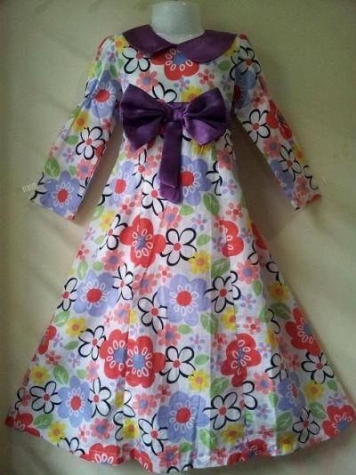 Gamis Anak Katun Jepang Terbaru Sentra Obral Baju