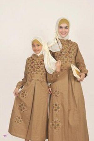 Model Gamis Ibu Dan Anak Untuk Acara Spesial Sentra