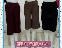 Supplier Celana Kulot Waffle 3 4 Wanita Dewasa Murah