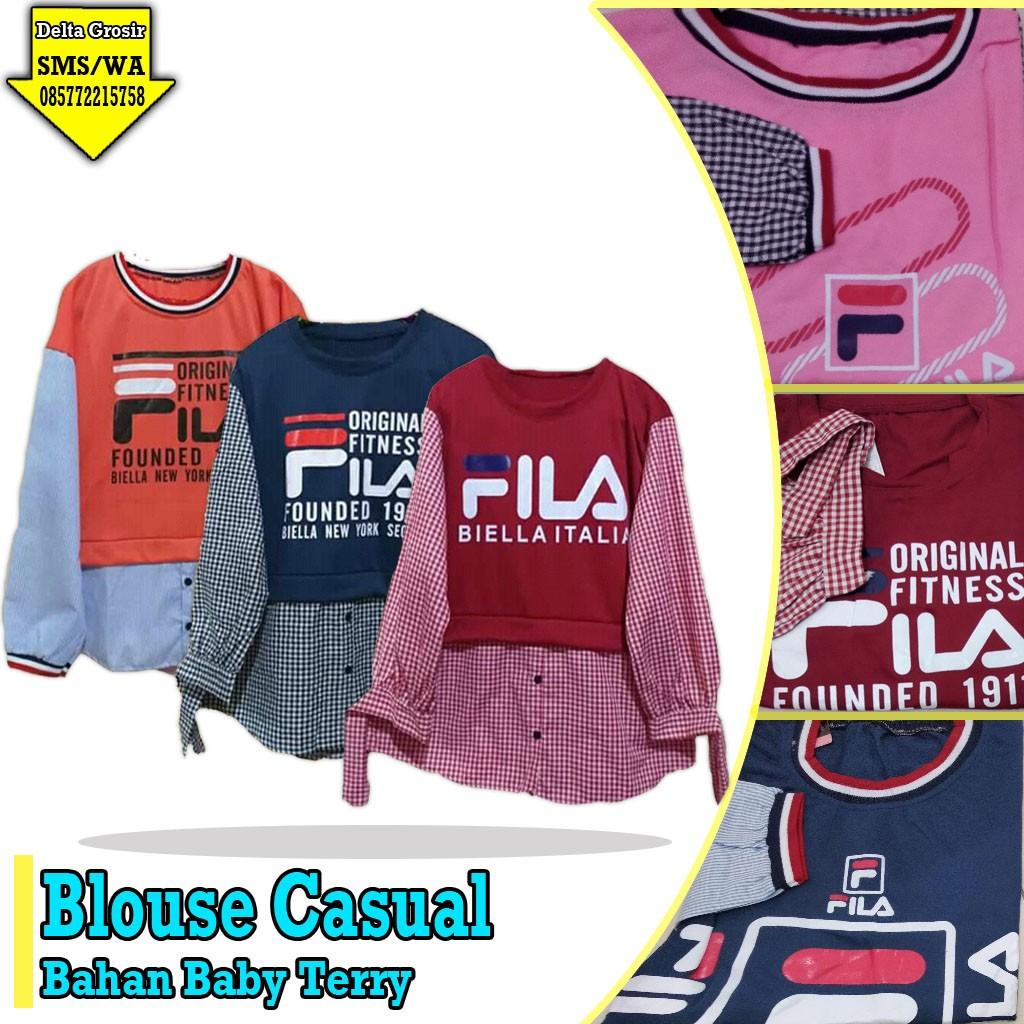 Distributor Blouse Casual Dewasa Murah 43ribuan