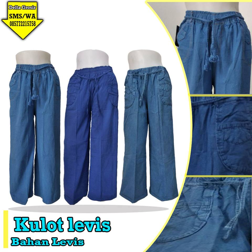 Distributor Celana Kulot Levis Dewasa Murah di Surabaya