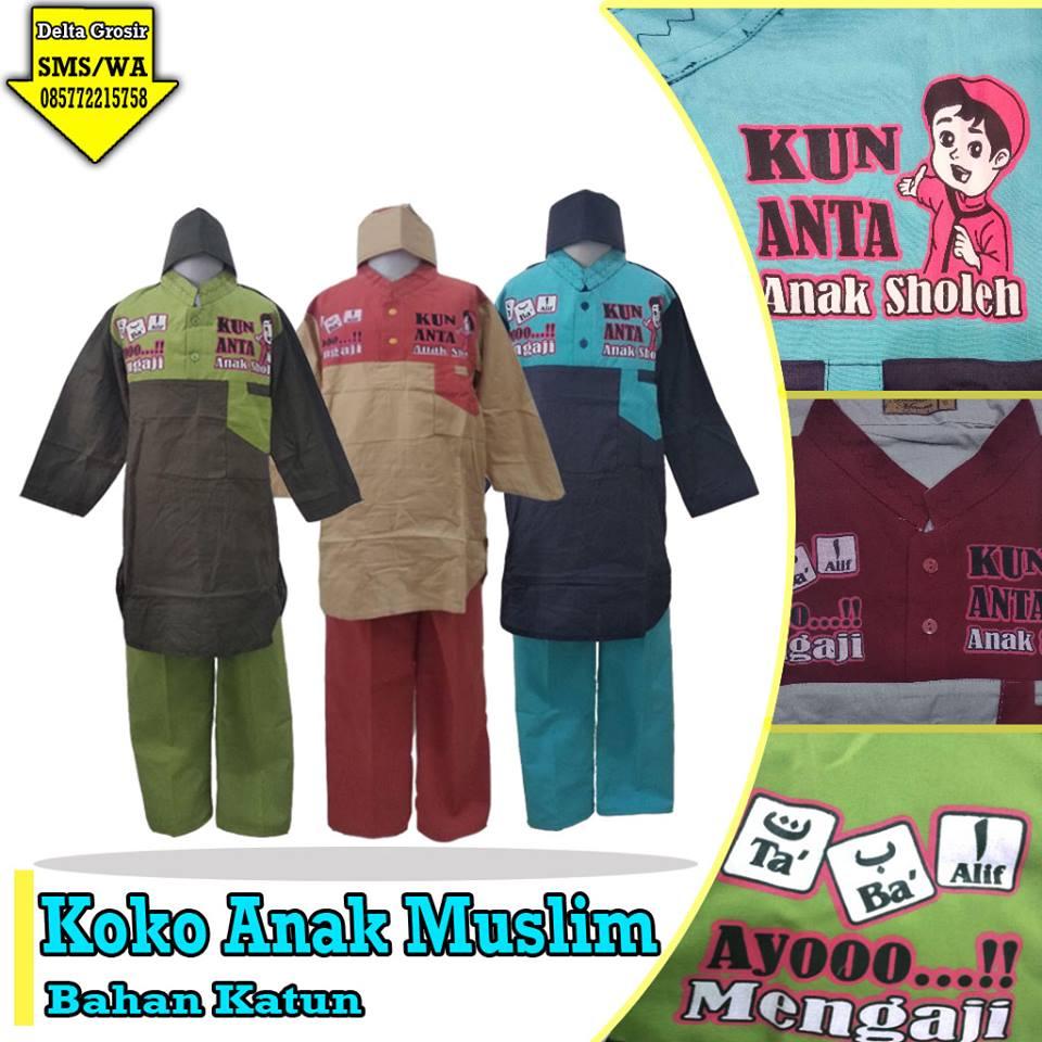 Pabrik Koko Anak Muslim Murah di Surabaya