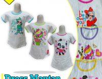 Pabrik Dress Mautan Putih Anak Murah di Surabaya
