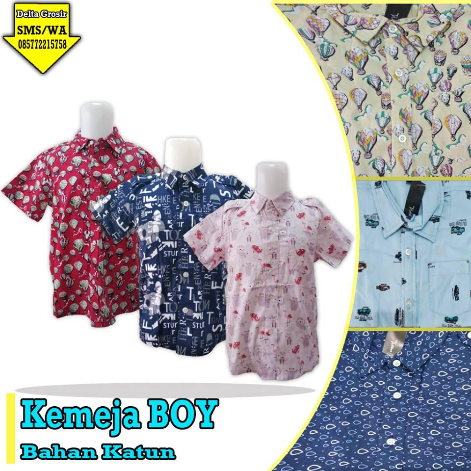 Pabrik Kemeja Boy Anak Murah di Surabaya