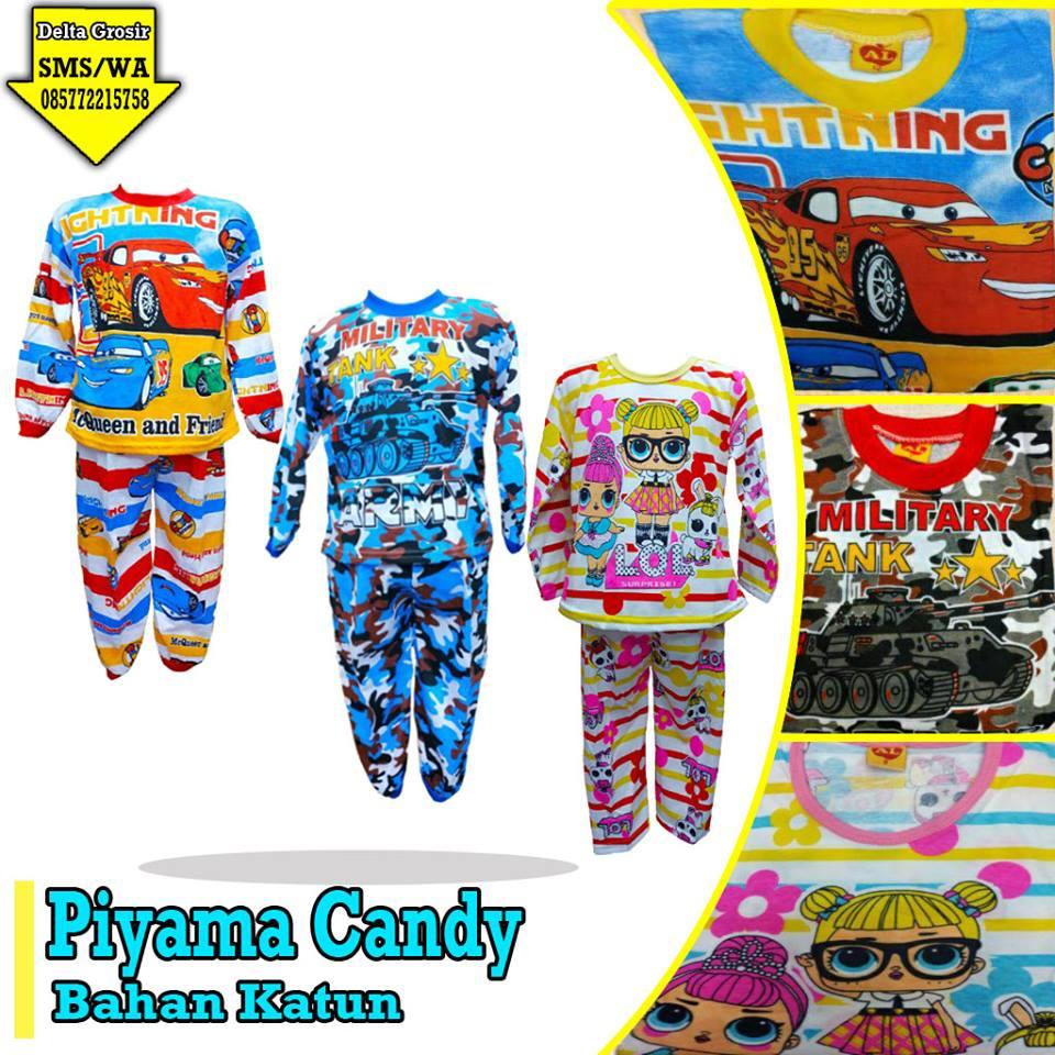 Pabrik Piyama Candy Anak Murah di Surabaya
