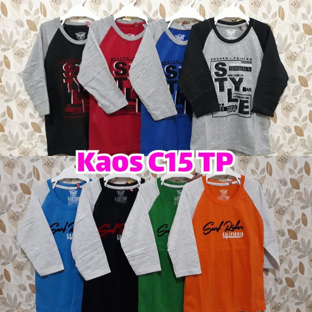 Distributor Kaos Anak Lengan Panjang Sidoarjo