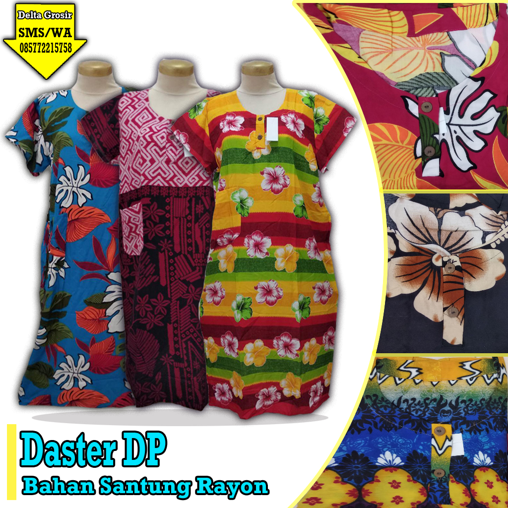 Pabrik Daster DP Dewasa Murah 25ribuan
