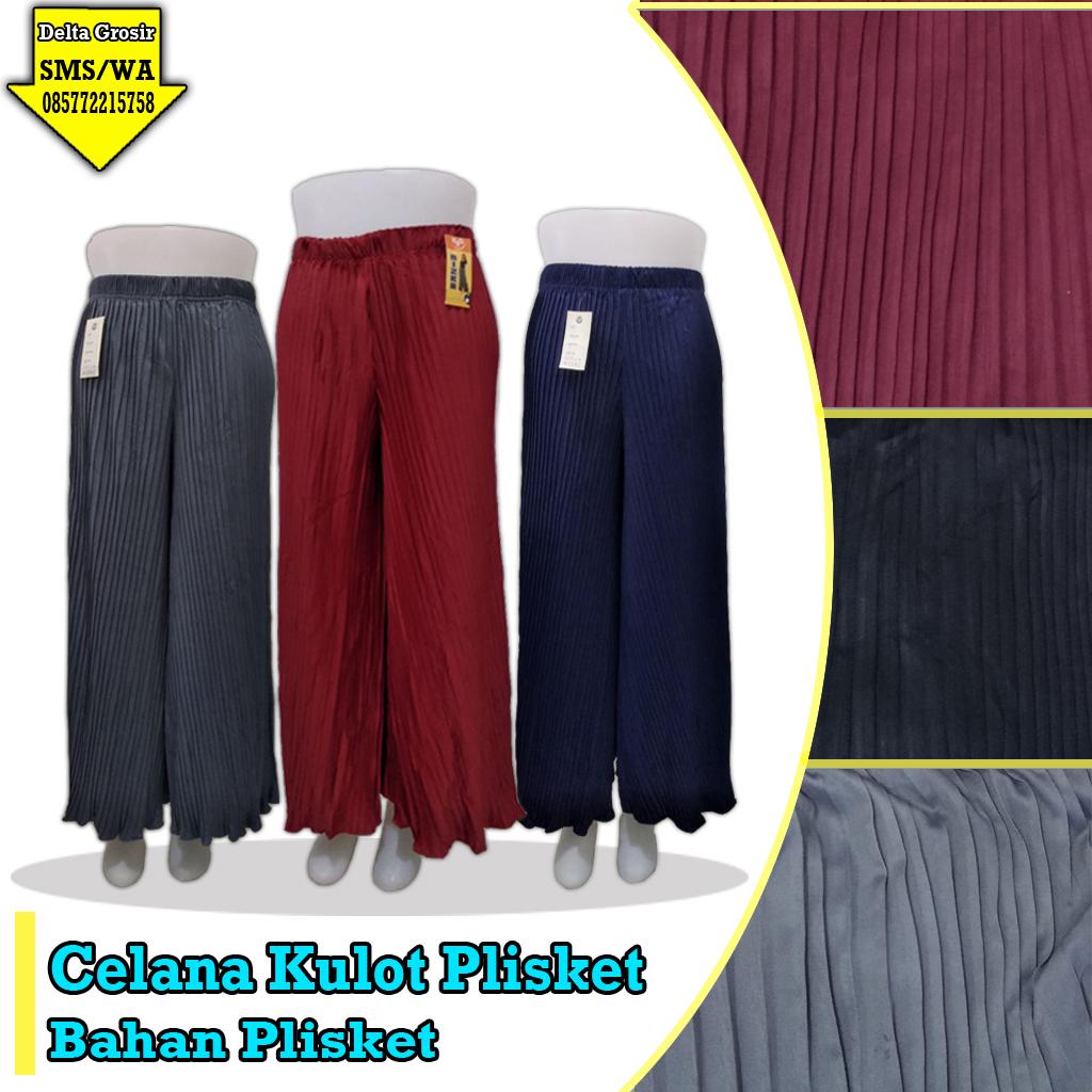 Supplier Celana Kulot Plisket Murah 34ribuan