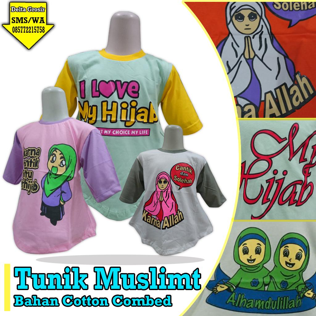 Pabrik Tunik Muslim Anak Murah di Surabaya