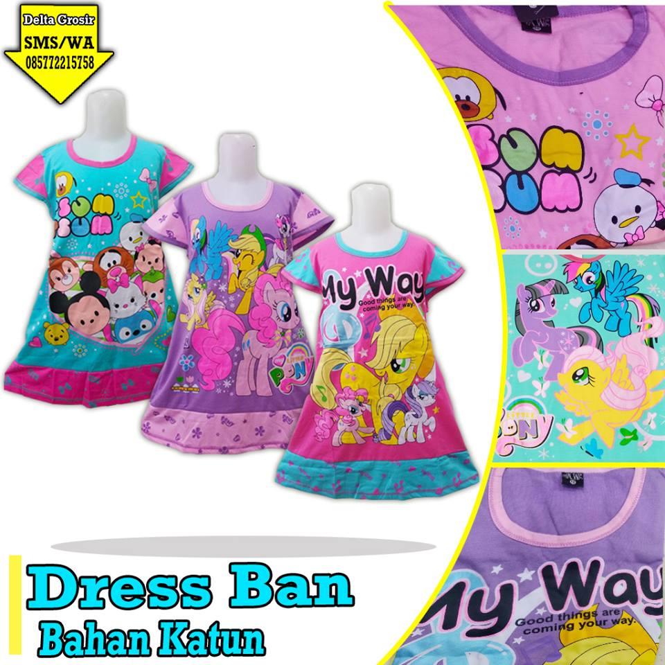 Pabrik Dress Ban Anak Murah di Surabaya