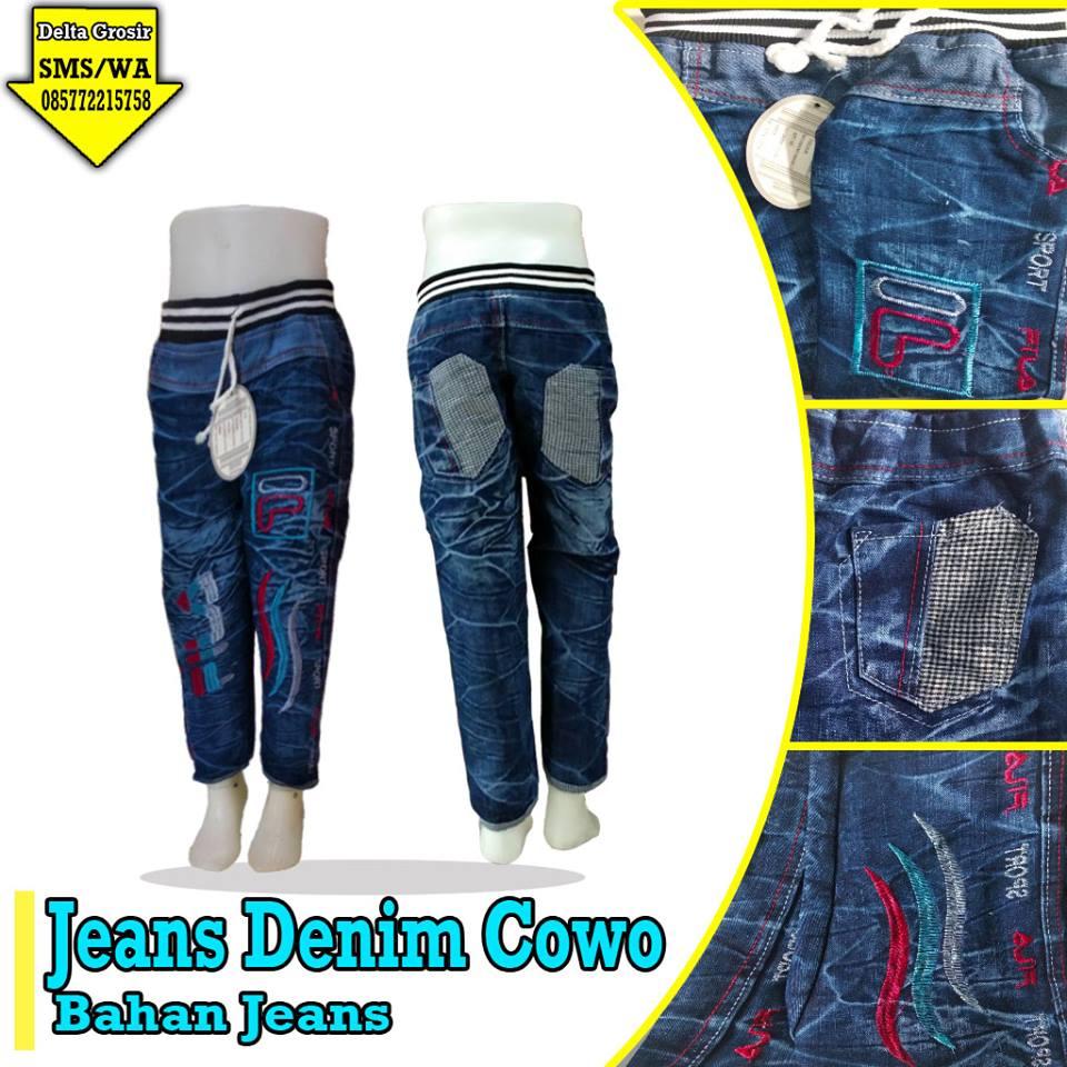 Distributor Celana Jeans Denim Anak Murah di Surabaya