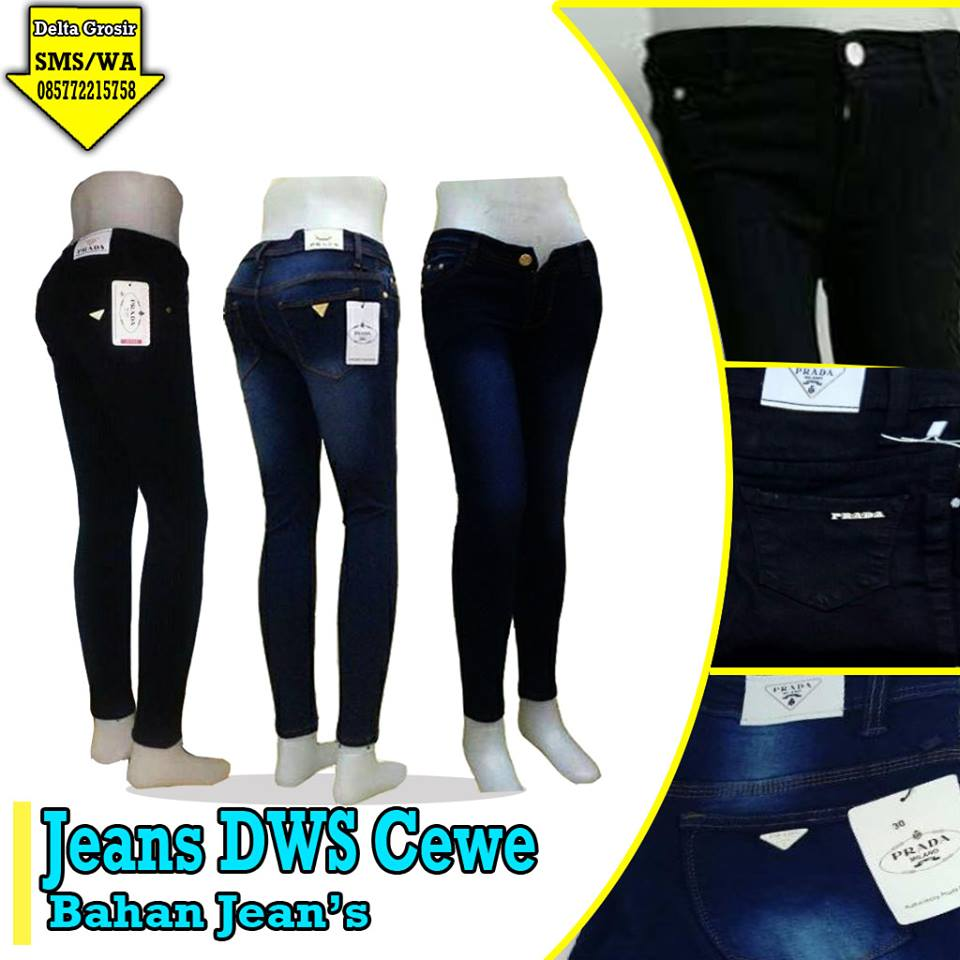 Produsen Jeans Dewasa Cewek Murah di Surabaya